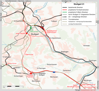 Bild von Baden-Württemberg: Projekt Stuttgart 21