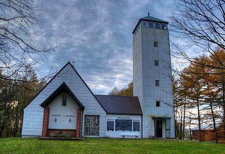 Bild von Mähring: St.-Anna-Gedächtniskirche mit Aussichtsturm
