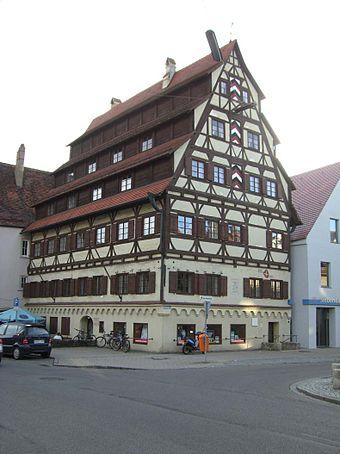 Bild von Memmingen: Das gerettete Siebendächerhaus