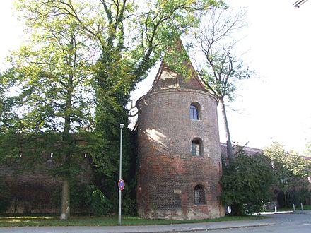 Bild von Memmingen: Der 1471 erbaute Bettelturm