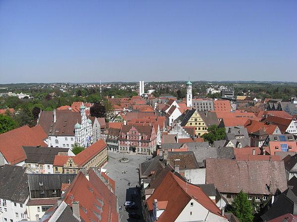 Bild von Memmingen: Der Memminger Marktplatz – die Keimzelle der Stadt