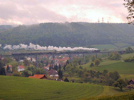 Bild von Schwarzwald-Baar-Kreis: Nostalgie-Verkehr auf der Wutachtalbahn