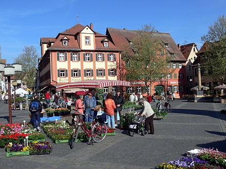 Bild von Schwabach (Landkreis): Marktplatz