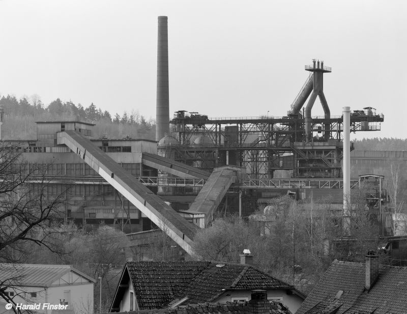 Bild von Bayern: Hochofen 3 der Maxhütte (Sulzbach-Rosenberg)