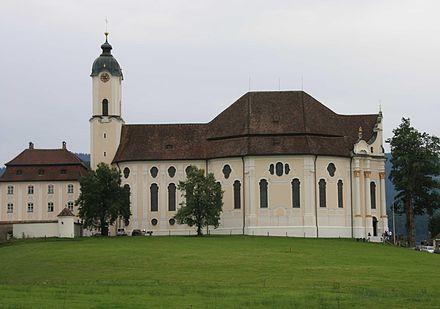 Bild von Bayern: Wieskirche in Oberbayern