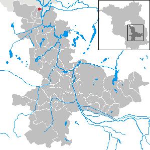 Karte von Eichwalde