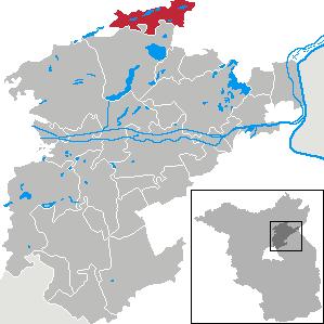 Karte von Friedrichswalde