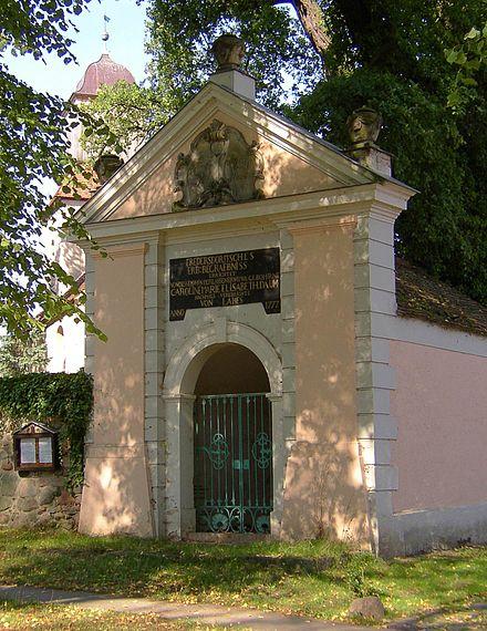 Bild von Großwoltersdorf: Fredersdorffsches Erbbegräbnis in Zernikow