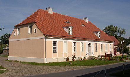 Bild von Großwoltersdorf: Inspektorenhaus in Zernikow