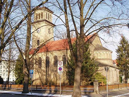 Bild von Hennigsdorf: Martin-Luther-Kirche