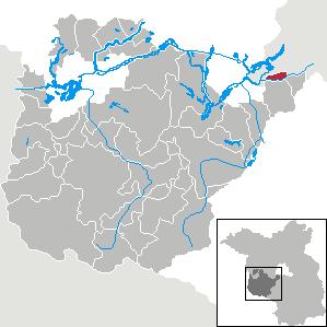 Karte von Kleinmachnow