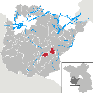 Karte von Linthe