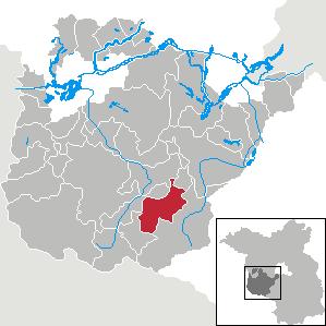 Karte von Mühlenfließ