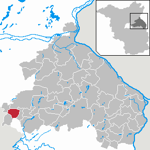 Karte von Neuenhagen bei Berlin