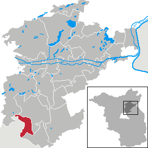Karte von Panketal