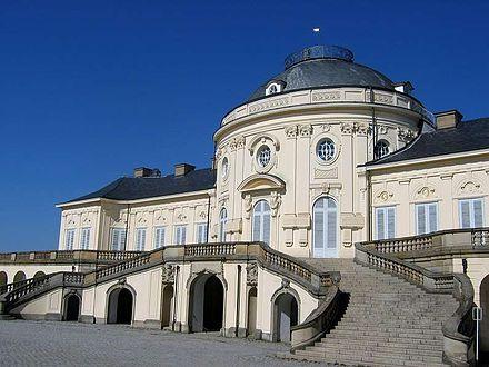 Bild von Gerlingen: Schloss Solitude gehörte bis 1942 zu Gerlingen