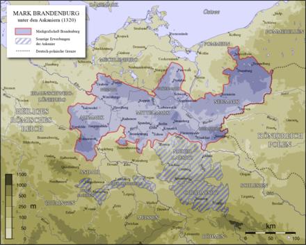 Bild von Teltow: Mark Brandenburg unter den Askaniern (1320)