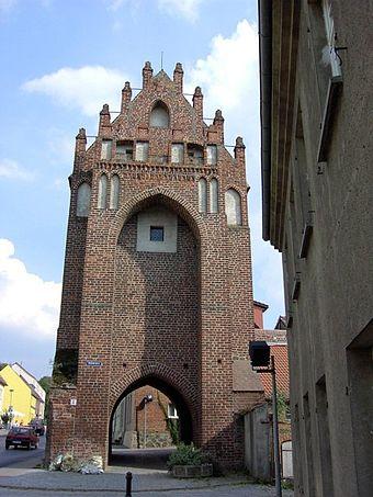 Bild von Templin: Das Mühlentor, eines der drei Stadttore