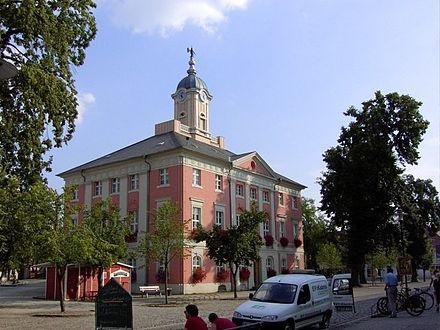 Bild von Templin: Das Rathaus von Templin