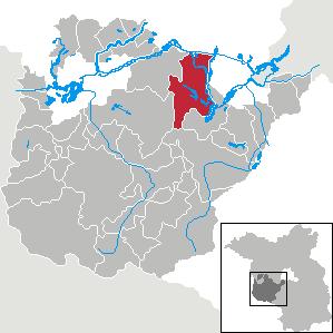 Karte von Werder (Havel)