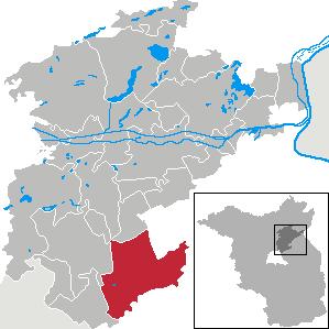 Karte von Werneuchen