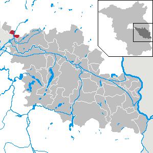 Karte von Woltersdorf (bei Berlin)