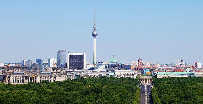 Bild von Berlin: Berliner Stadtsilhouette, 2012