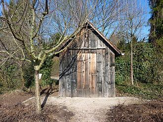 Bild von Heilbronn: Historisches Wengerterhäuschen vom Wartberg im Botanischen Obstgarten Heilbronn