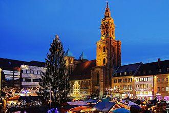 Bild von Heilbronn: Heilbronner Weihnachtsmarkt, 2009