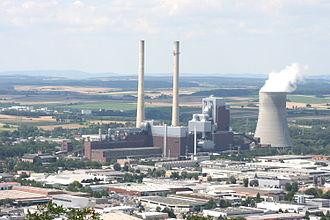 Bild von Heilbronn: Das Kraftwerk Heilbronn ist die bedeutendste Landmarke der Stadt