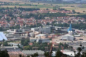 Bild von Heilbronn: die Südwestdeutschen Salzwerke zählen zu den größten Arbeitgebern in Heilbronn