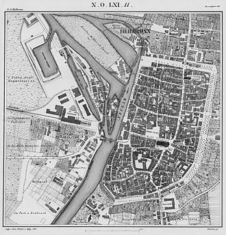 Bild von Heilbronn: Heilbronn 1858