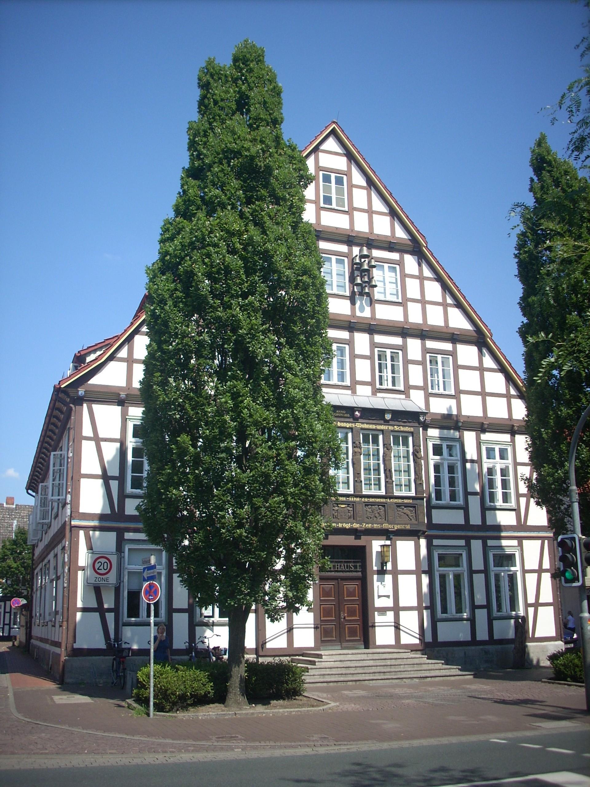 Bild von Burgdorf (Region Hannover): <center>Historisches Rathaus</center>