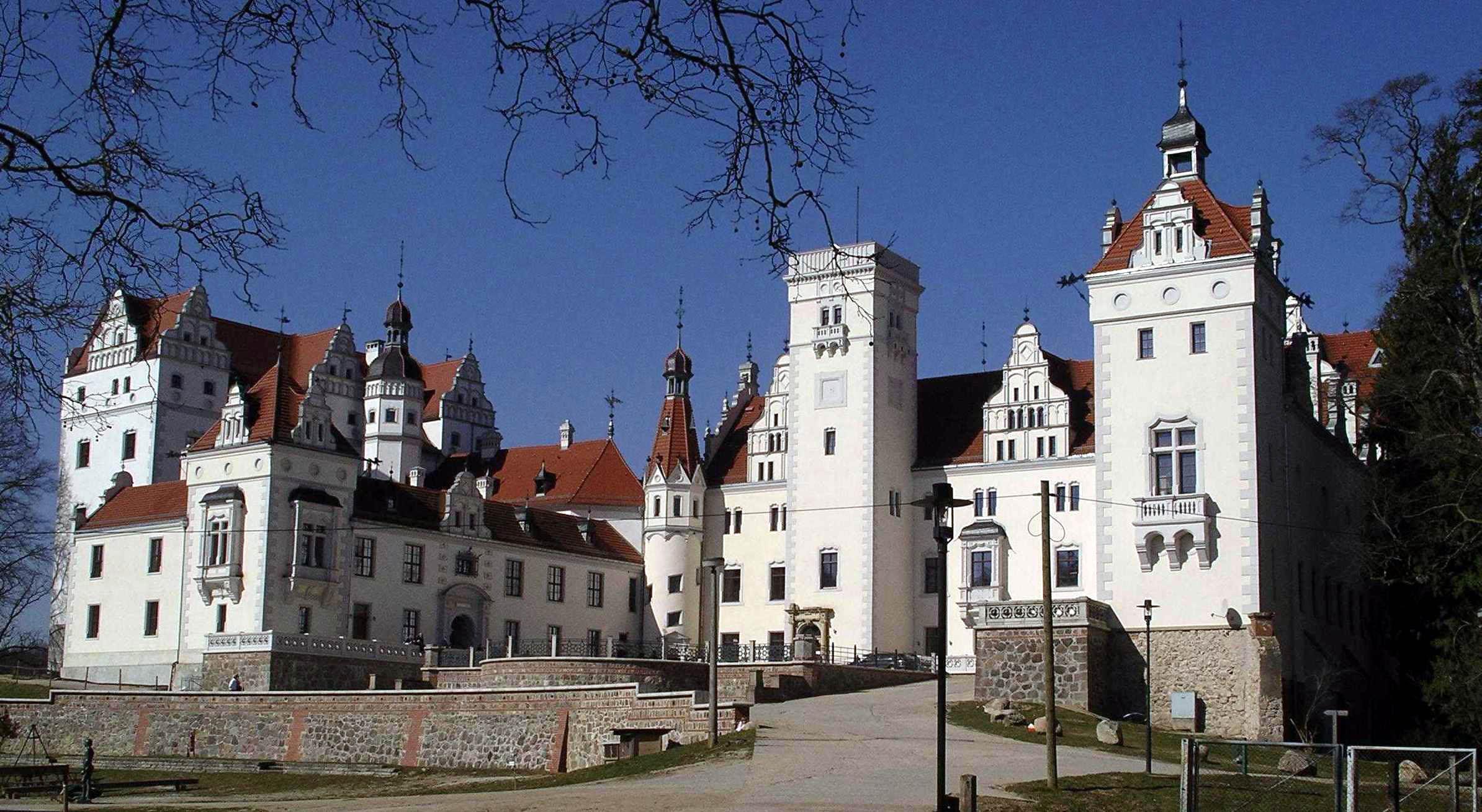 Bild von Brandenburg: Schloss Boitzenburg in der Uckermark