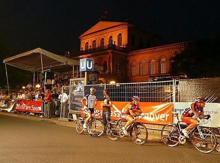 Bild von Hannover: Startsituation 2008 bei der Nacht von Hannover