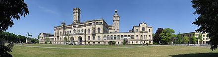 Bild von Hannover: Hauptgebäude der Universität Hannover im Welfenschloss