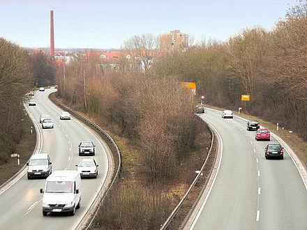 Bild von Hannover: Westschnellweg
