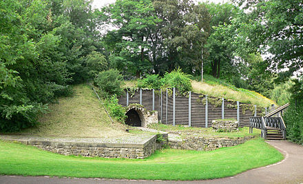 Bild von Neustadt am Rübenberge: Erichsbastion, archäologisch ausgegraben und teilrekonstruiert