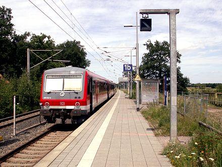 Bild von Wedemark: Bahnhof Bennemühlen an der Heidebahn