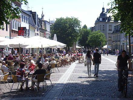 Bild von Brühl (Rheinland): Marktplatz in der Innenstadt