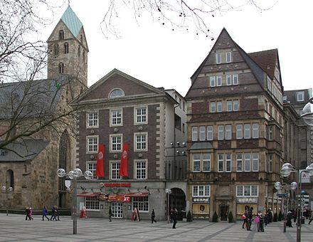Bild von Dortmund: Die bekannteste Häuserzeile am Ostenhellweg