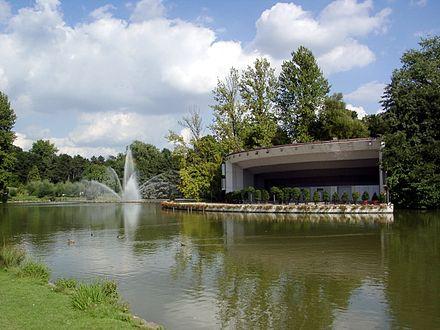 Bild von Dortmund: Die Seebühne im Westfalenpark