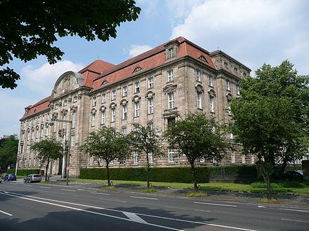Bild von Düsseldorf: Oberlandesgericht Düsseldorf an der Cecilienallee