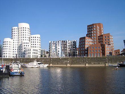 Bild von Düsseldorf: Neuer Zollhof im Medienhafen von Düsseldorf