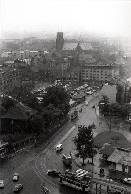Bild von Gelsenkirchen: Blick von Buer nach Norden (1955)