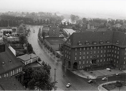 Bild von Gelsenkirchen: Blick von Buer nach Süden (1955)