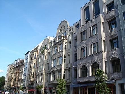 Bild von Köln: Jugendstilhäuser im Belgischen Viertel