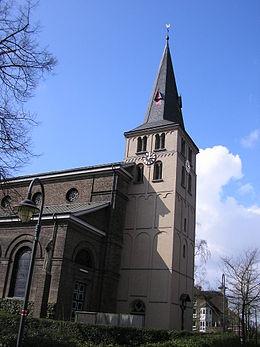 Bild von Meerbusch: St. Stephanus zu Lank-Latum, romanischer Turm