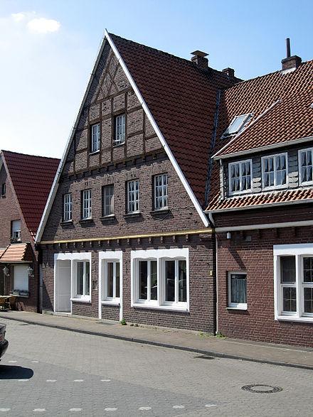 Bild von Nordkirchen: Fachwerkhaus am Ludwig-Becker-Platz