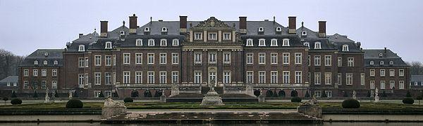 Bild von Nordkirchen: Schloss Nordkirchen, Gartenfassade des bedeutenden Barockschlosses